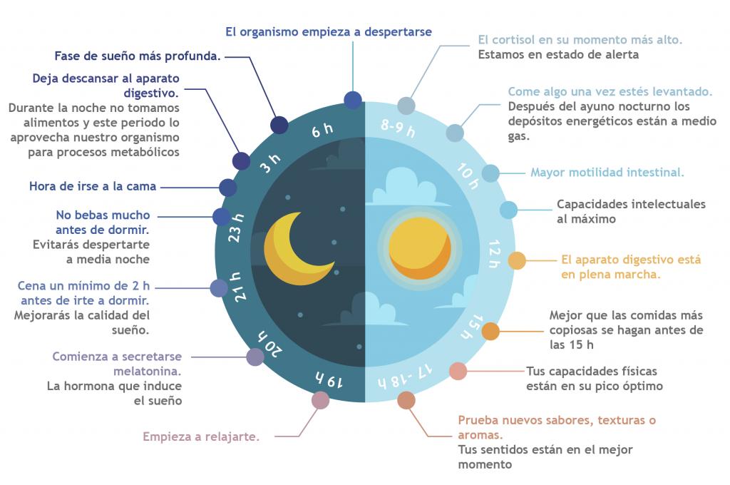 Cronobiología- Bionutrición Ortomolecular