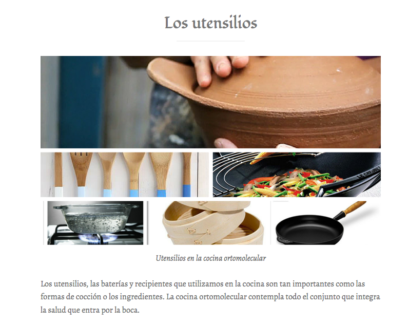Los utensilios de cocina más saludables- La Cocina Ortomolecular