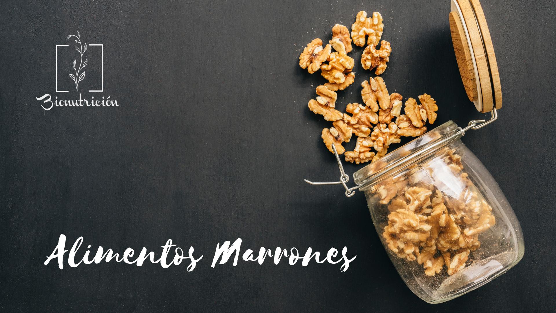 Propiedades de los alimentos marrones-Bionutrición Ortomolecular