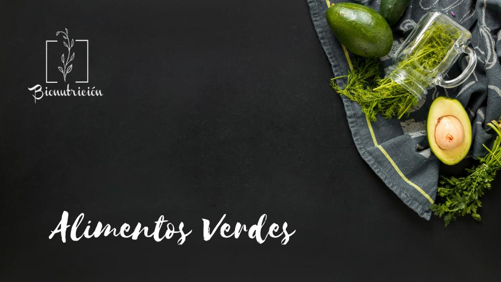 Propiedades de los alimentos verdes-Cromonutrición: los beneficios de los alimentos según sus colores