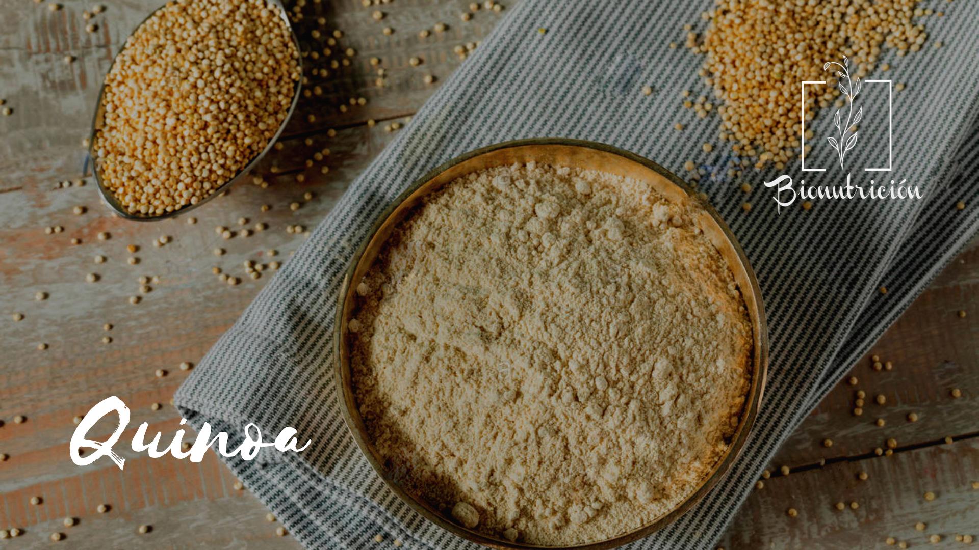 Quinoa- Bionutrición Ortomolecular