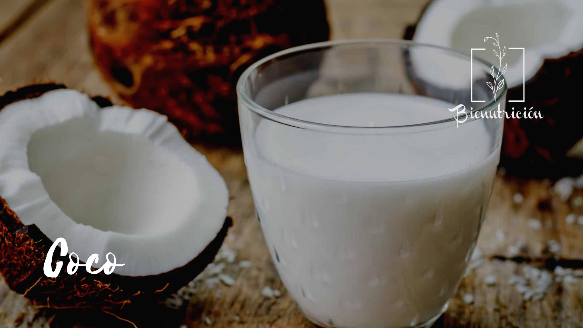 Propiedades de la leche de coco- Bionutrición Ortomolecular