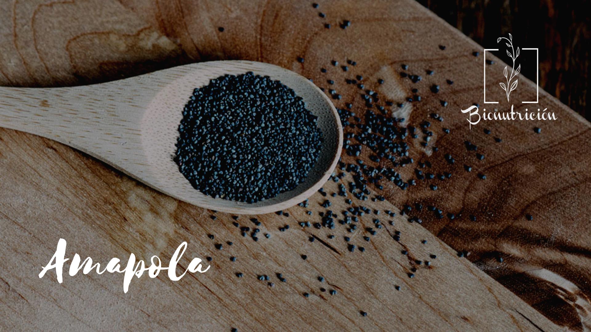 Propiedades de las semillas de amapola