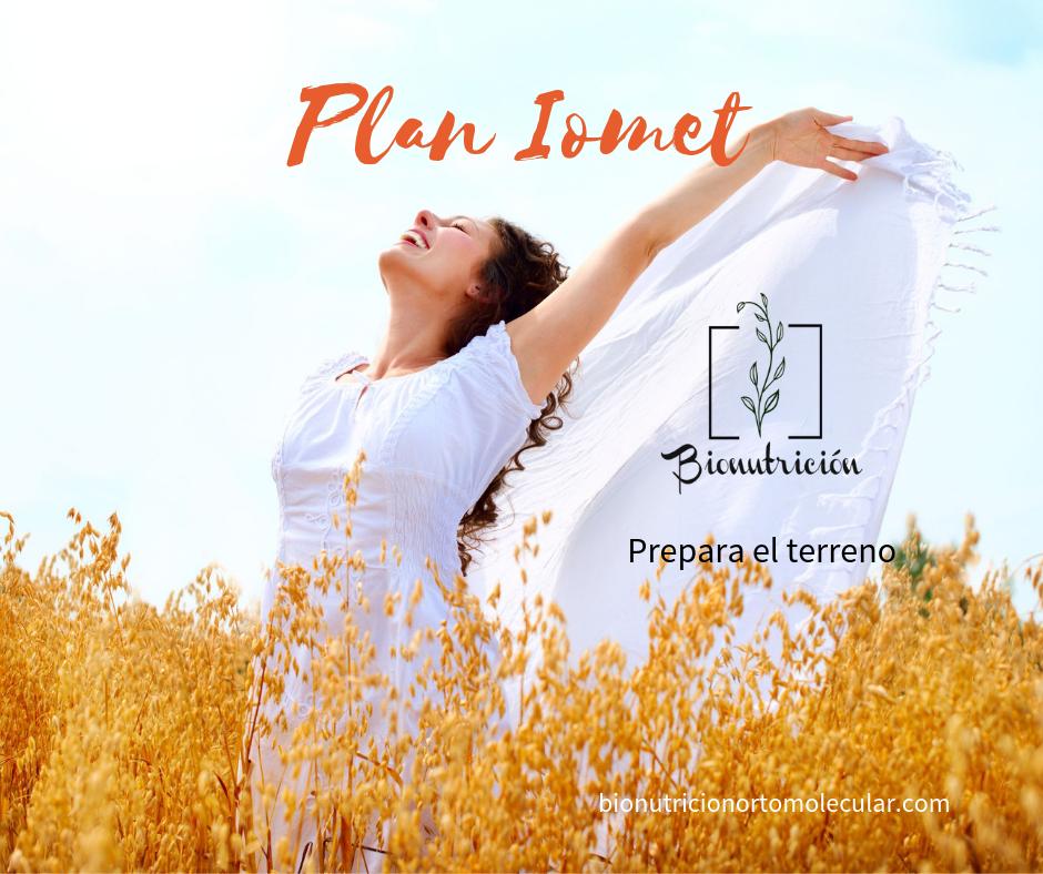 Plan Iomet- Bionutrición Ortomolecular