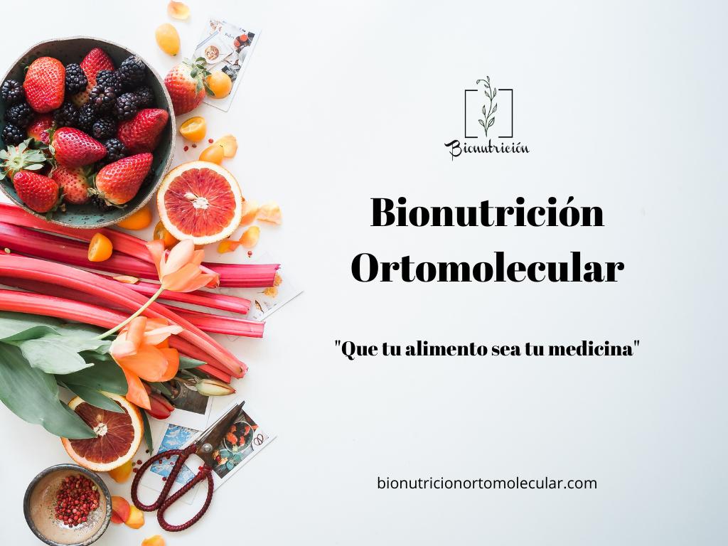 Nutrición Ortomolecular 1